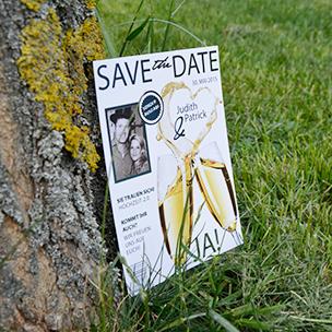 save the date - Einladungskarte